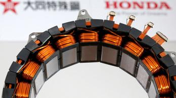 Már nem függ Kínától a Honda hibridmotorja
