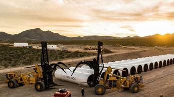 Nagy a baj a Hyperloop One körül