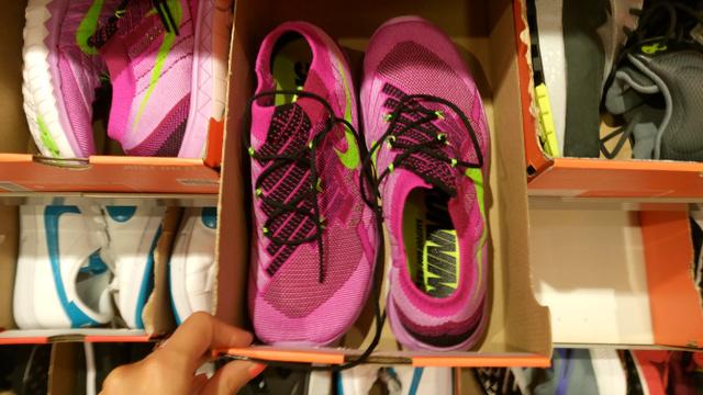 Premier Outlet, Nike: leárazva is 30 ezer forint, de teljes áron volt ennek a duplája is...