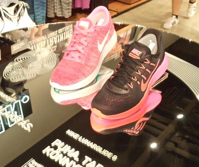 WestEnd, Nike bolt: itt már a Lunarglide 8-cal nyomulnak.