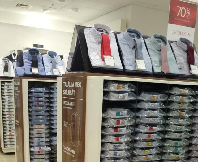 A Marks & Spencer az elegáns férfiak lelőhelye.