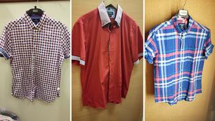 Férfiingek a boltokban: 3000-ből is könnyű felöltözni