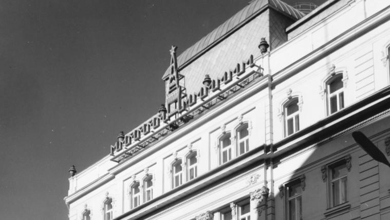 Miért van kinn Moszkva szimbóluma a Magyarok Világszövetsége székházán?