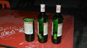 Elfajult a szülinap, Rúzsa Sándor palackokkal törtek-zúztak a fiatalok