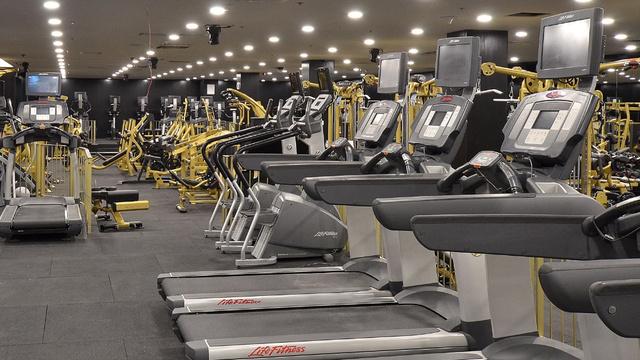 Peak Gym: pont elég futópad van