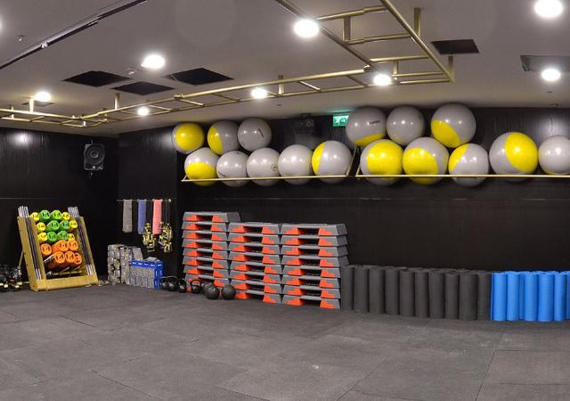 Peak Gym: a termek tiszták, jól felszereltek, de nem nagyok