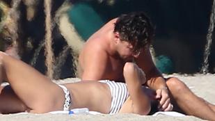 Leonardo DiCaprio legújabb áldozatát csókolgatta a strandon
