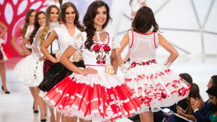 Rózsás nemzeti felvonulást csaptak a magyar szépségversenyen