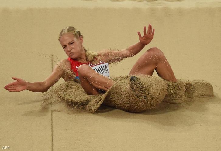 Darja Klisina az oroszok egyetlen atlétája, aki versenyezhet Rióban