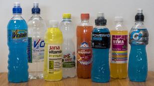 Teszt: vitaminos sportvizek, a szomjat nem oltják