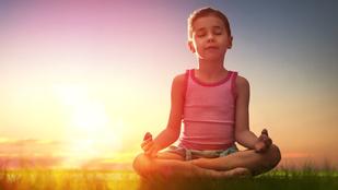 Meditációs kisokos gyerekeknek - Kádár Annamáriától