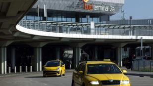 Bombát találtak a ferihegyi taxiparkolóban