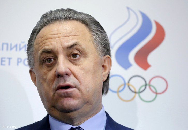 Vitalij Mutko, sportminiszter.