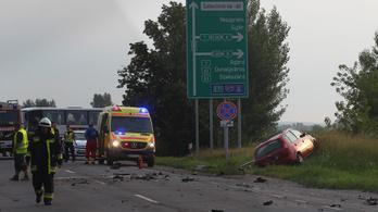 Halálos baleset volt a 7-es úton Székesfehérvárnál