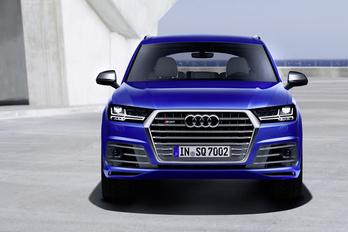 Szörcsög az Audi Q7