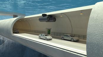 Víz alatt lebegő csőbe terelnék a forgalmat Norvégiában