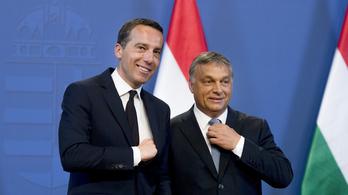 Orbán az évtized elszólását produkálta az osztrák kancellárral közös sajtótájékoztatón