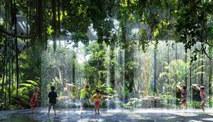 Na, vajon hol épül komplett esőerdő egy szállodába?