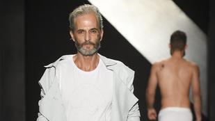 Na és ősz szakállú modellt látott már kifutón?