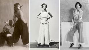 Ennyit változott a bő nadrág az elmúlt 100 évben