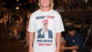 Mindkét elnökjelölt kampányát tolja az American Apparel