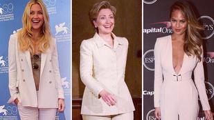 Kinek áll jobban: Hillary Clinton vs. celebek