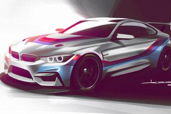 Új BMW versenyautó a láthatáron
