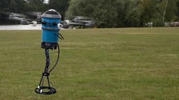 Készül az aknakereső drón