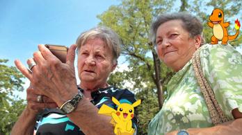 Elmentünk pokémonra vadászni két nagymamával