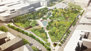 Ilyen lesz az új Millenáris Park