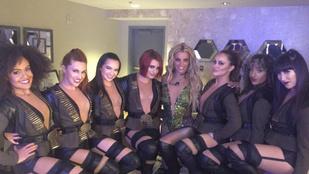 Instahíradó: Britney Spears több mint egy tucat női comb között