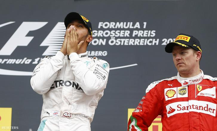 A Ferrari legutóbbi dobogóját Räikkönen hozta, Ausztriában harmadik lett