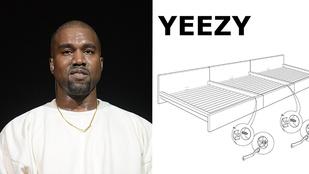 Az IKEA szóviccel és mókás bútortervvel válaszolt Kanye Westnek