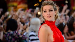 Nahát, Amber Heard máris bepasizott volna?