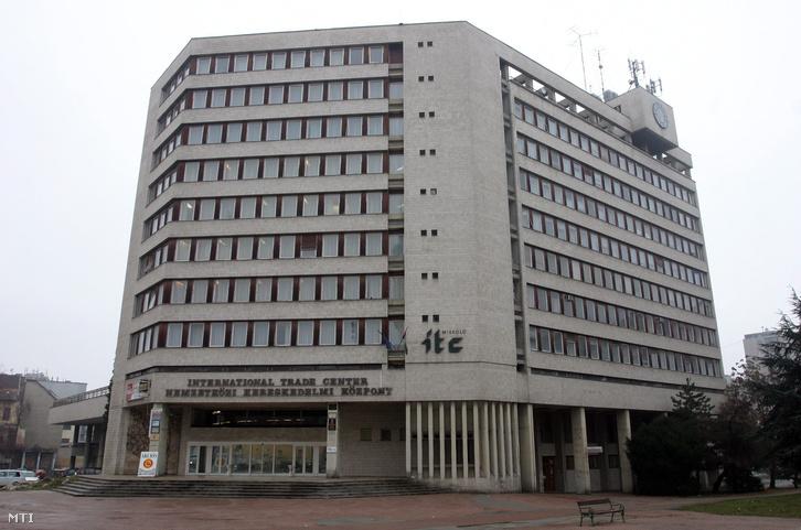 Az ITC-székház épülete Miskolcon