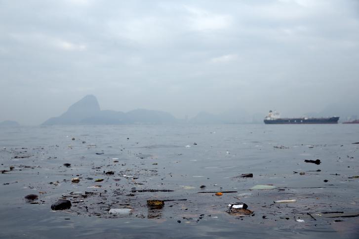 A vizes versenyszámok egyik helyszíne 2015-ben, egy évvel az olimpia előtt