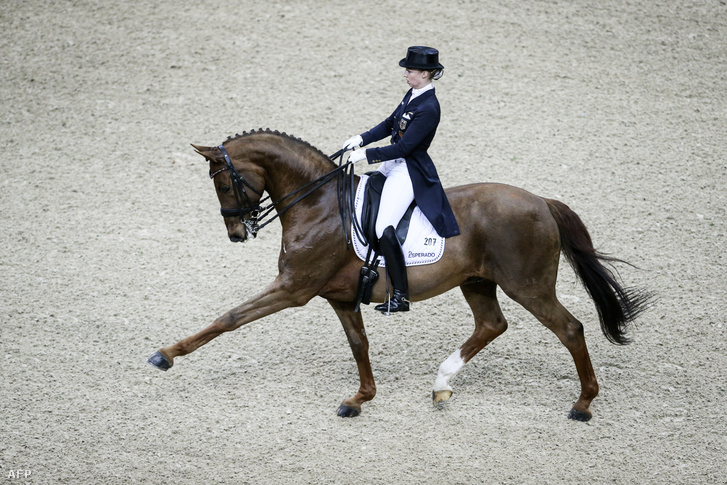 Dressage-program Fabienne Lutkemeiertől