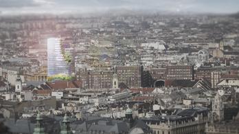 Elegáns felhőkarcolót terveztek a Deák térre