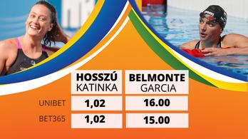 Katinka már a döntő előtt olimpiai bajnok lett a fogadóirodáknál