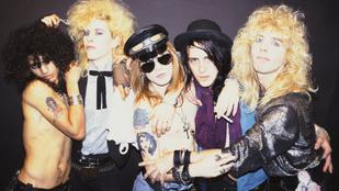Miért lett vége a Guns N' Rosesnak pont a legnagyobb sikerek idején?