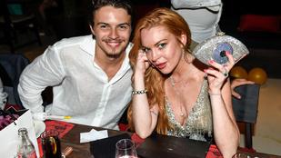 Lindsay Lohan megint üzent milliárdos vőlegényének