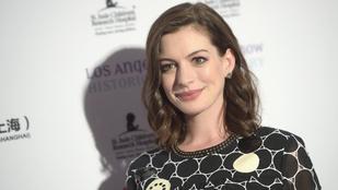 Anne Hathaway szerint nem ciki a túlsúly terhesség alatt