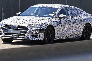 Kémfotókon a következő Audi A7