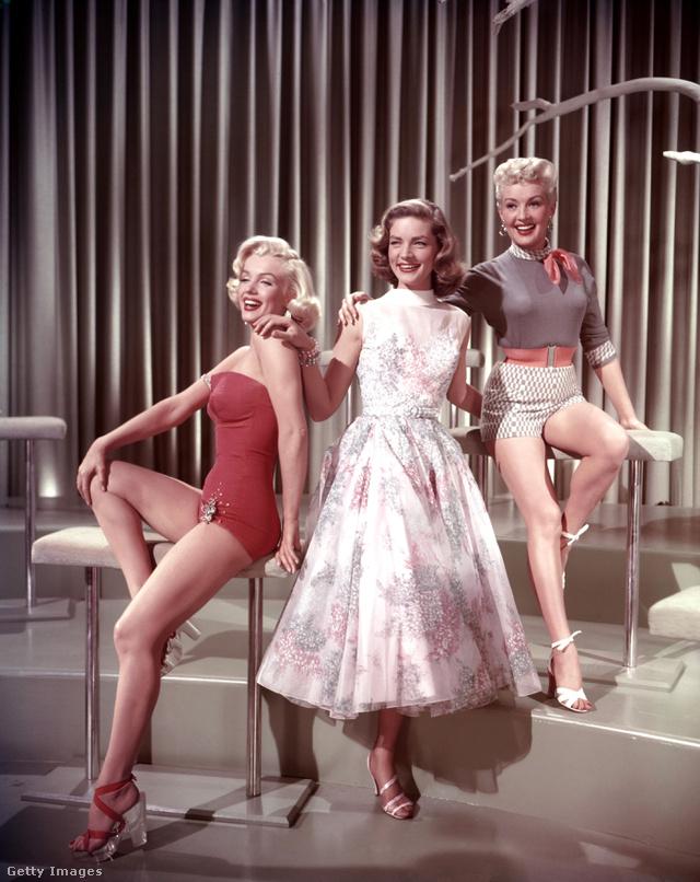 Marilyn Monroe, Betty Grable és Lauren Bacall a Hogyan fogjunk milliomost? című klasszikusban.