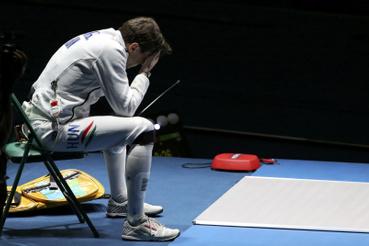 Ahol a koreai Park ellen már 14-10-re is vezetett, egy tusra volt az olimpiai aranytól.