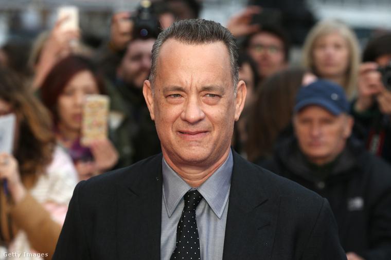 2. Tom Hanks melyik filmje kapta a legtöbb százalékot?