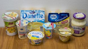 Teszt: vaníliás pudingok és joghurtok