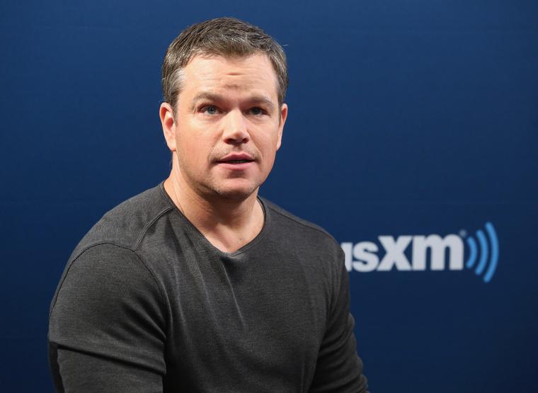 4. Matt Damon melyik filmje kapta a legtöbb százalékot?