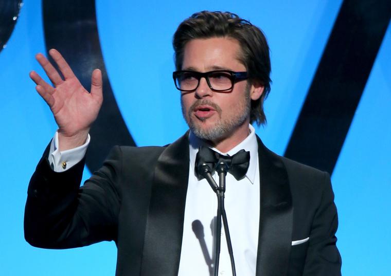 9. Brad Pitt melyik filmje kapta a legtöbb százalékot?