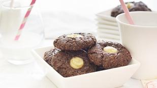 Pénteki süti: csokis sajttorta-kekszek